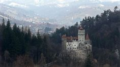 Bran Castle, famous as 'Dracula's Castle,' stands among Transylvanian mountains on March 10, 2013 in Bran, Romania. Although is it only one among several locations linked to the Dracula legend, it retains the myth and tourists flock there in large numbers.