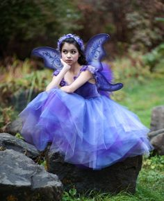 4 pc Flower Fairy Tutu Dress by EllaDynae on Etsy, $180.00