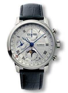 Limes Pharo Full Calendar Moonphase Chronograph Watch