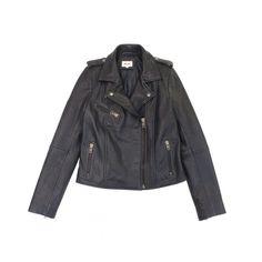 Blouson Vanite - Belair Automne-Hiver 2014/15 -  Veste en cuir bubble poches zippées  Composition: Cuir Véritable