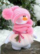 Christmas Woodland Snowman Ready to Ski Decoration Sock Snowman Craft, Sock Crafts, Snowman Crafts, Christmas Projects, Felt Crafts, Holiday Crafts, Christmas Sewing, Pink Christmas, Christmas Snowman