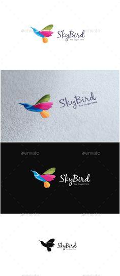 Sky Bird Logo http://graphicriver.net/user/ms_designer/portfolio?ref=MS_designer