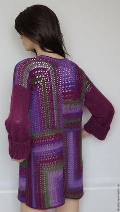 """Пуловер """"Инжир"""" – купить в интернет-магазине на Ярмарке Мастеров с доставкой - BTT49RU"""