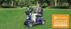 The Eden Roadmaster Plus is our best-selling mobility scooter! See it for yourself at http://www.eden-mobility.co.uk/eden-roadmaster-plus.