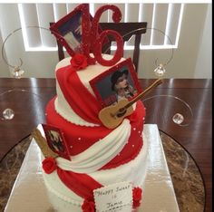 Taylor Swift Fan Swag Rose Birthday Cake By I LOVE THE CAKE Los Angeles Based Designer And Baker