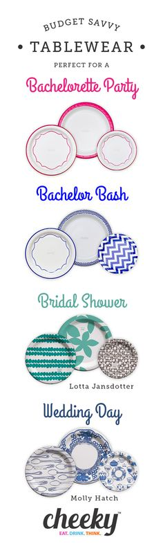 Affordable Tablewear from @Cheeky_home! Perfect for any wedding related event and totally #budgetsavvy!