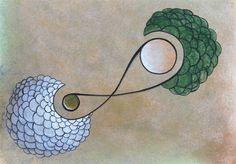 """Arte em papel: """"Pilar e Nando"""" do artista brasileiro Quim Alcantara http://quim.com.br/arte/pilar-e-nando"""