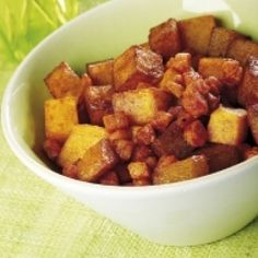 Fried Potatoes with Bacon and Paprika