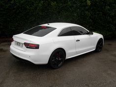 White Audi A5 Black Rims Find the Classic Rims of Your Dreams - www.allcarwheels.com