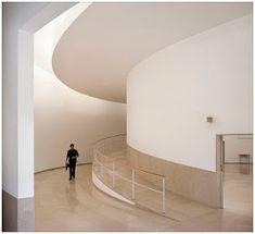 a f a s i a: Álvaro Siza Vieira Church Architecture, Interior Architecture, Visual Arts Center, Modern Interior, Interior Design, Stair Handrail, Skylight, Facade, Design Inspiration