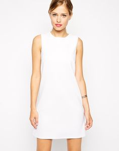 6b1bc9ad5f5e 60 s Shift Dress in Rib by ASOS - Found on HeartThis.com  HeartThis