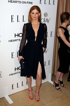 Sarah Rafferty: ELLEs 2015 Women in Television -07                                                                                                                                                                                 Mais