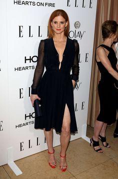 Sarah Rafferty: ELLEs 2015 Women in Television -07                                                                                                                                                                                 Mais