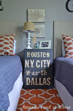 Spare Room?: cool idea! Would be neat to put names of places that Cam and I have visited...or lived, even...longitude/latitude maybe??