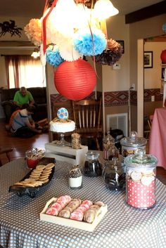 Milk & Cookie themed party