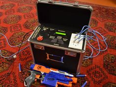 Reactive Targets for 6mm Airsoft and NERF®