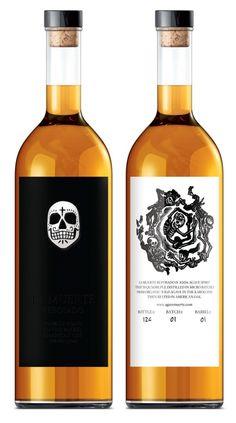 "La Muerte Reposado Tequila  www.LiquorList.com ""The Marketplace for Adults with Taste!"" @LiquorListcom #LiquorList"