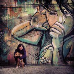 www.parlafood.com/in-rome-metropoliz-inaugurates-ludoteca/ Beautyfull murals