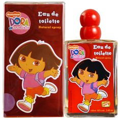 Nickelodeon Dora Explorice 3.4 Oz Edt For #Girls - DORA34SPK