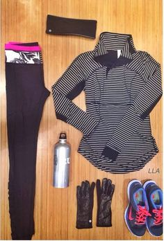 Lululemon winter running gear