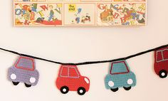 Bertie Cars Garland ~ Inspiration