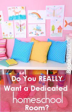 Do You Really Want a Dedicated Homeschool Room?