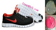 20c99d651d1f Mens Nike Free Run Black Red Shoes Nike Shoes For Sale