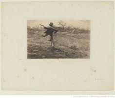 Vanité, entre 1899 et 1906, eau-forte, à l'encre brune, sur papier Arches, 13,2 x 18,4 cm, Bibliothèque Nationale de France à Paris.