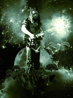 Pin Floyd - David Gilmour poster