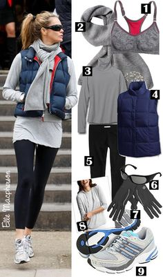 Cute outfits with running shoes
