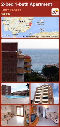 2-bed 1-bath Apartment in Torrevieja, Spain ►€96,000 #PropertyForSaleInSpain