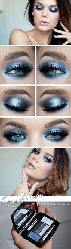 8 Silver Eye Makeup Tutorials - GleamItUp