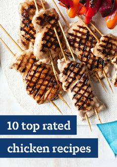 10 Top Rated Chicken Recipes – There's a world of great chicken recipes to be explored – from quick chicken stir-fry recipes to slow-cooker chicken to whole chicken recipes.