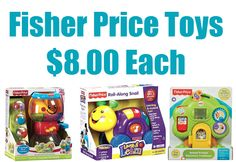 THREE Fisher-Price Toys Worth $80 only $25.64 w/ Free Pick Up **HOT - $8 Per Toy** - http://www.swaggrabber.com/?p=282626