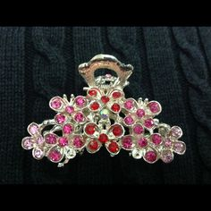 Jeweled hair clip Shiny jeweled hair clip Accessories Hair Accessories