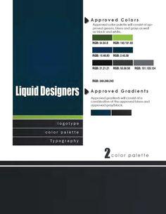 Visual Style Guide Design by Cristóbal José Prieto Iñárritu, via Behance