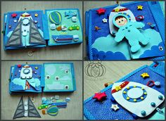 quiet book for boy Personal wishes Simple Pages Personalized
