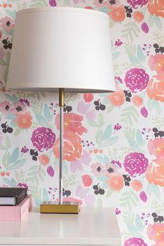 Caitlin Wilson wallpaper--pastel petite blooms