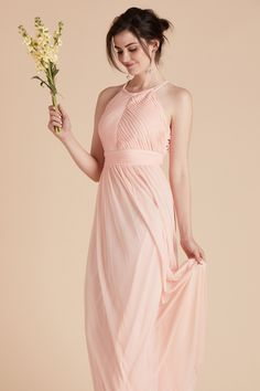 Keep it long and lean in our classic Monica bridesmaid dress 95b138f38