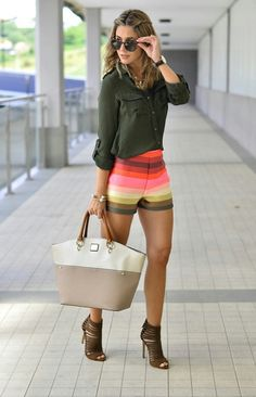 Ecstasy Models — Somewhere Over the Rainbow Blouse BERSHKA (old)...