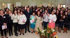 - En el marco del Día Internacional de la Mujer se reconoció el trabajo, esfuerzo y dedicación de las mujeres...