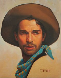 After graduating in 1977 from the American Academy of Art in Chicago, Thomas Blackshear worked for a year for the Hallmark Card Company in Kansas City, Missouri. Vintage Illustration Art, Illustrations, Character Illustration, Cowboy Draw, Thomas Blackshear, Westerns, Southwestern Art, Historical Art, Realistic Drawings