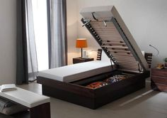 small bedroom ideas under bed storage - Pesquisa Google
