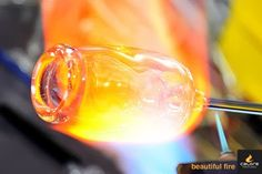 Try my hand at glass blowing!