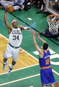 Paul Pierce Boston Celtics Pablo Prigioni New York Knicks