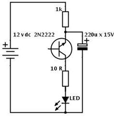 Diagrama de regulador 138v electronic pinterest circuits pisca pisca de led com um transistor simples e barato ccuart Image collections