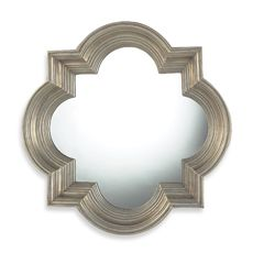 Osbourne Mirror in Midland Silver Finish from Bed, Bath and Beyond