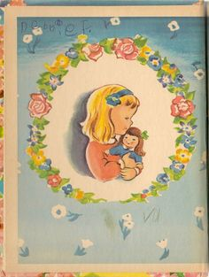 My Prayer Book A Rand McNally Tip-Top Elf Book  Written by Margaret Clemens  Illustrated by Esther Friend  Rand McNally, 1947  20 Pp.  Hardcover