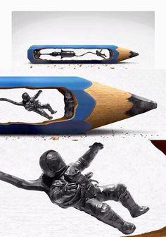 Amazing pencil sculptures