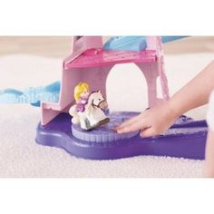 Fisher-Price Little People Disney Princess Klip Klop Stable Play Set
